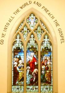 VTS Great Commission Window