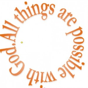 All things possible