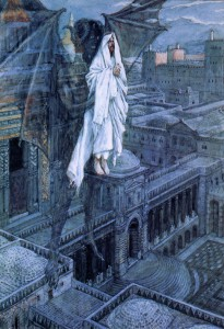 Satan tried to tempt Christ, James Tissot, 1895