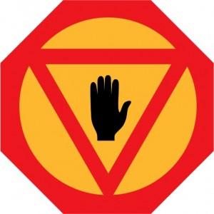 Finnish stop sign