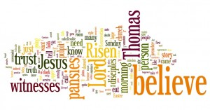 2 easter 2011 wordle
