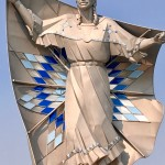 """Statue entitled """"Dignity,"""" Chamberlain, S.D."""